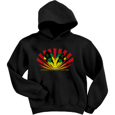 Black Power Force Hooded Sweatshirt