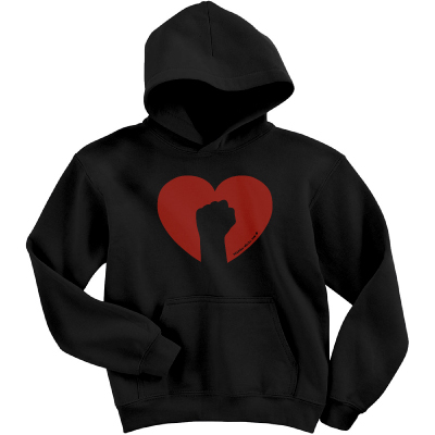 Black Love Hooded Sweatshirt