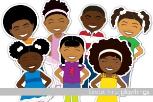 Paper and other Printed Toys for African American Children and the Young at Heart