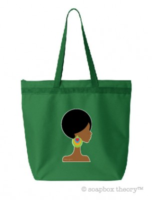 Finely Feathered Bright Tote