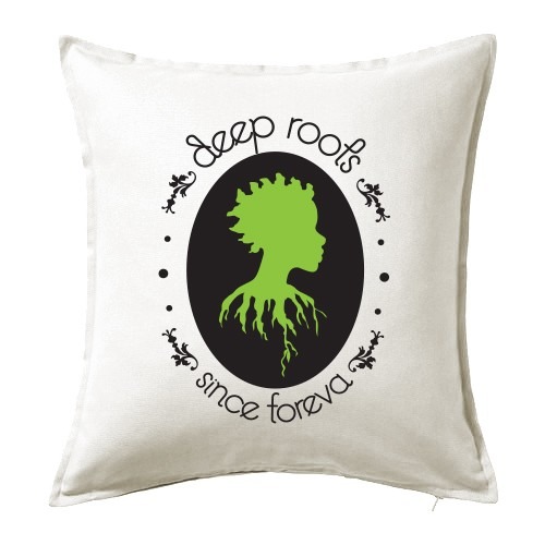 Deep Roots Cushion Cover