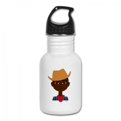 little cowboy water bottle