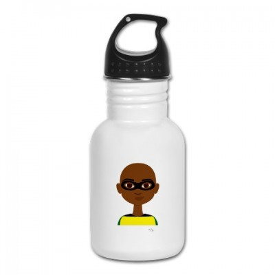 little super hero water bottle