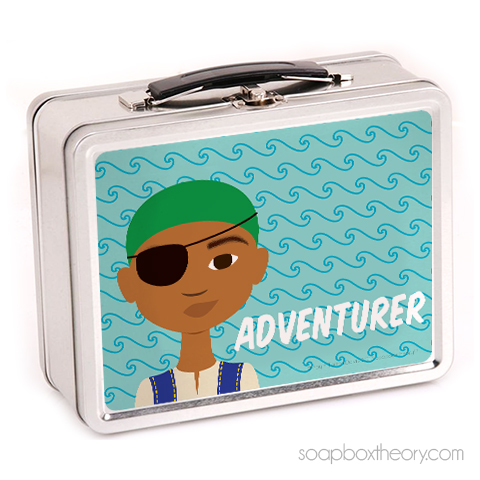 little pirate lunch box