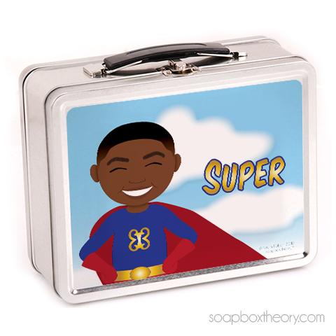 super boy lunchbox