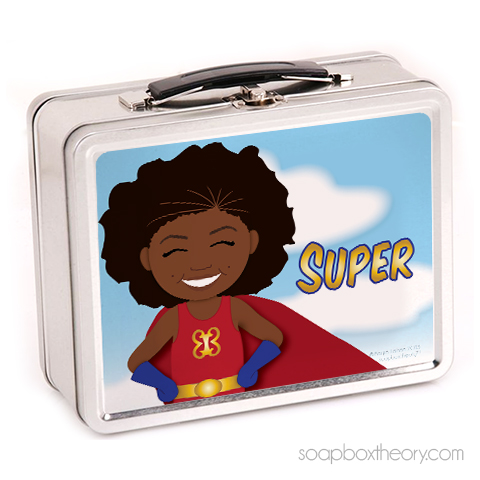 super girl lunchbox