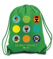 Boys Adventure Drawstring Backpack (multiple colors)