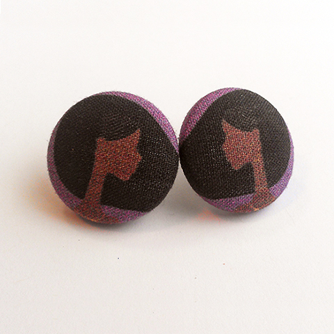 Summer Breeze Button Earrings