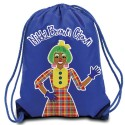 Nikki Brown Clown Drawstring Backpack (Multiple Colors)