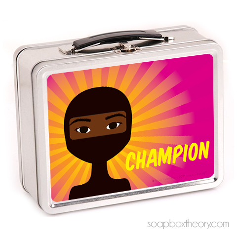 little ninja lunch box (girl)