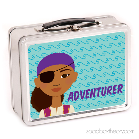 little pirate lunch box (girl)