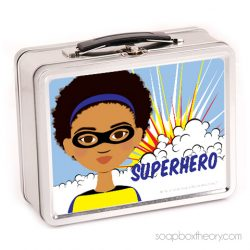 little hero lunch box (girl)